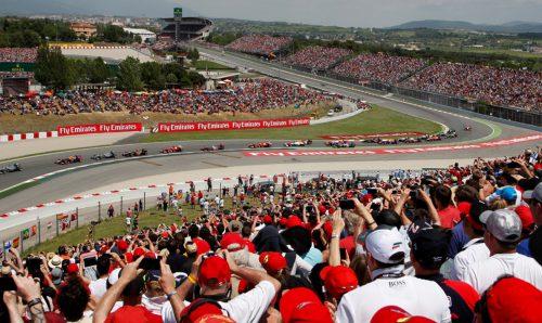 Circuit de Catalunya Barcelona Formule 1