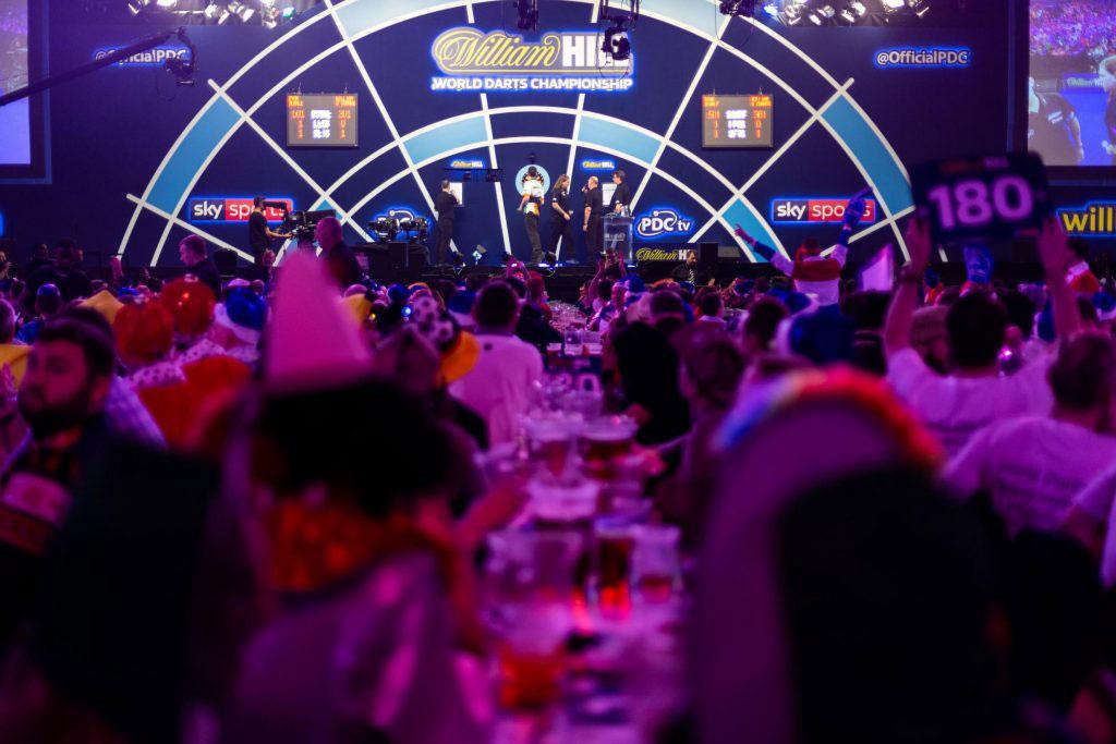 World Darts Championship avondsessie 17 december (Vliegarrangement) 5 Tribuneticket