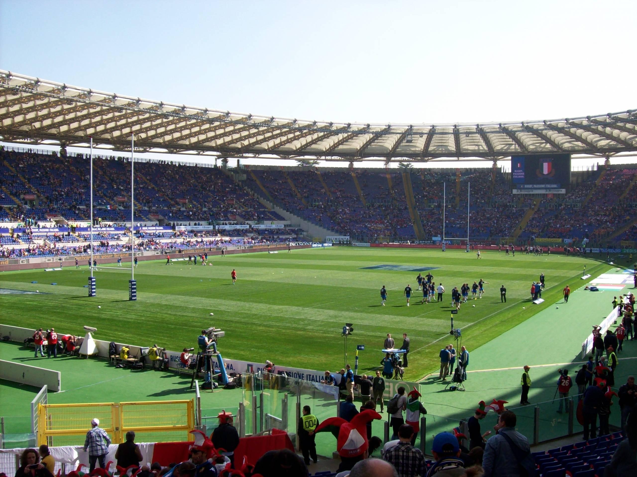 Six Nations Italië Schotland