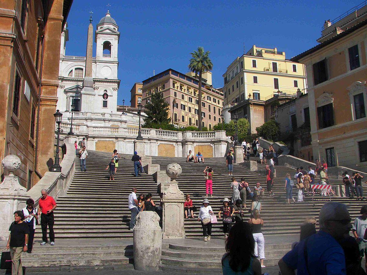 Spaanse Trappen Rome