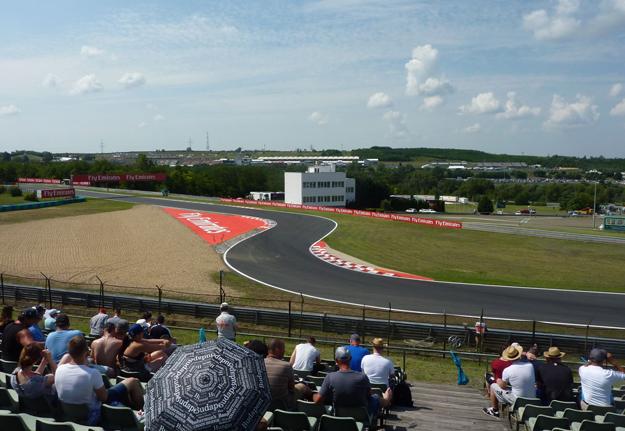 Formule 1 reizen Hungaroring (vliegreis) (DUSSELDORF - 5 daagse) 5 General Admission (weekend)
