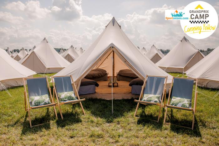 Georganiseerde tent camping GP Oostenrijk