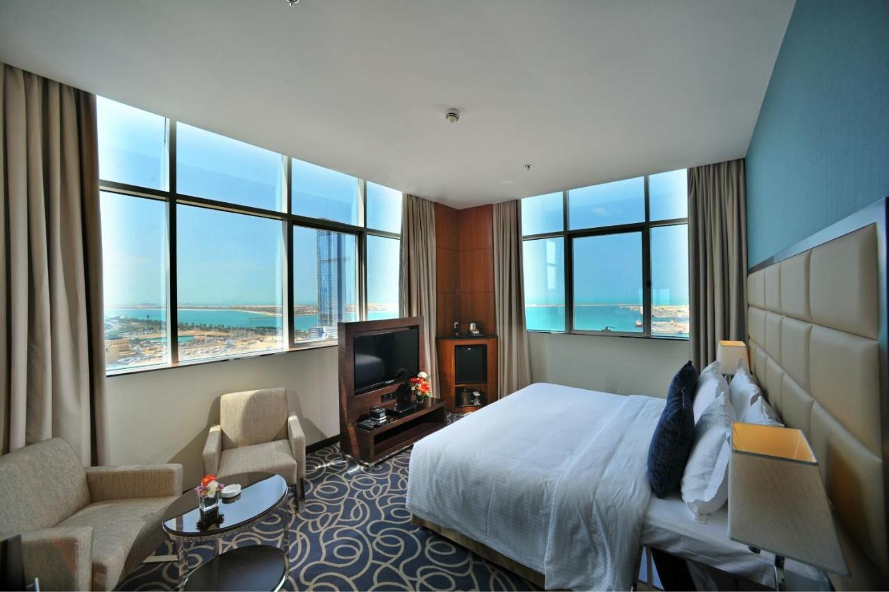 Hotel kamer Ramada hotel Abu Dhabi