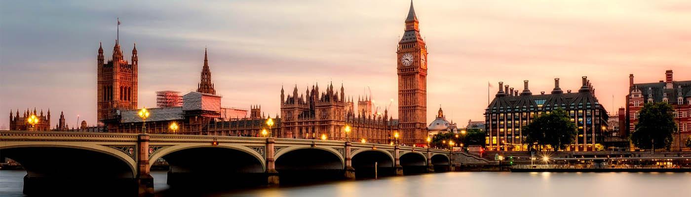 Treinreis naar Londen