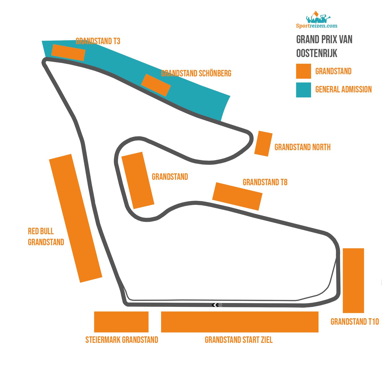 Circuit GP Oostenrijk